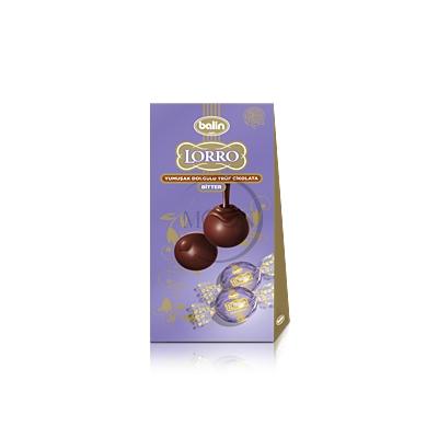 Lorro Bitter Yumuşak Dolgulu Trüf Çikolata
